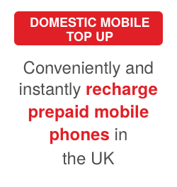 Domestic Mobile Top Up: Conveniently and easily recharge prepaid mobile phones the UK